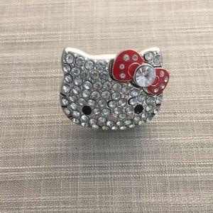 3f64d647f Women Hello Kitty Bow Ring on Poshmark
